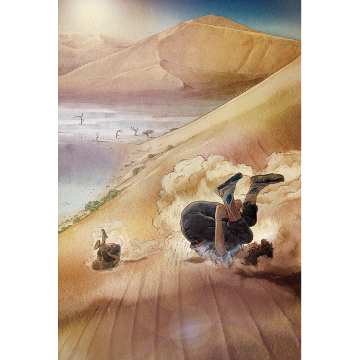 Explorer academy sterrenduinen afbeelding