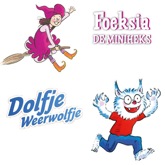 Dolfje Weerwolfje en Foeksia de Miniheks in Okki