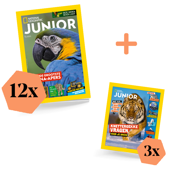 Nat geo junior jaarabonnement exta