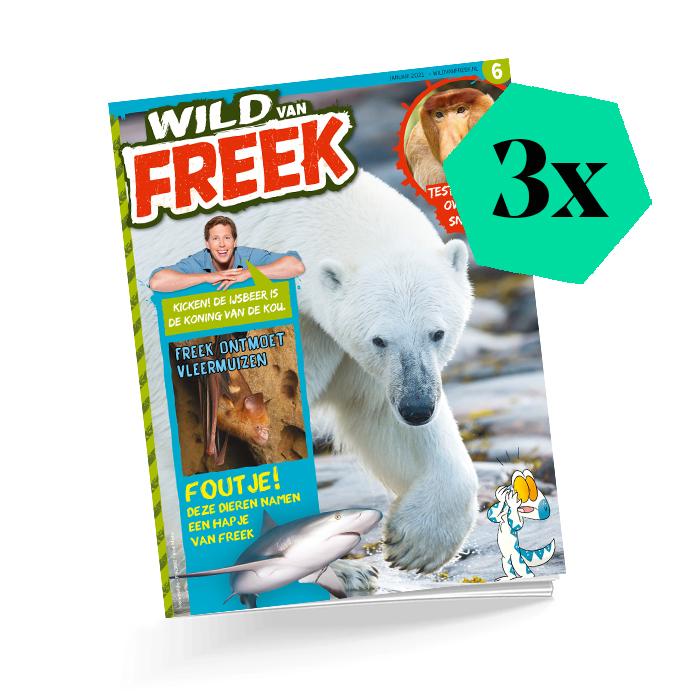 Wild van freek cadeautip