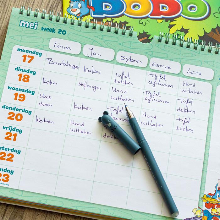 Bobo weekplanner