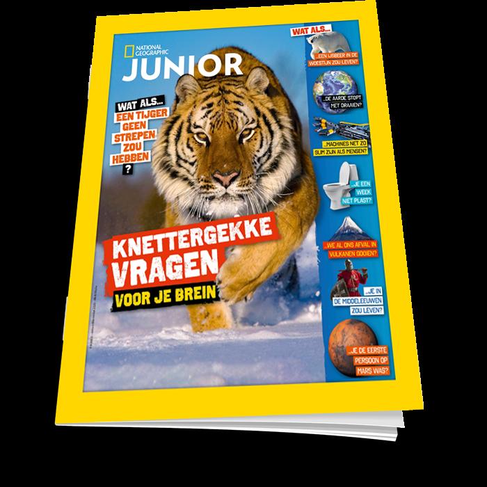 Nat Geo Junior Winterboek knettergekke vragen