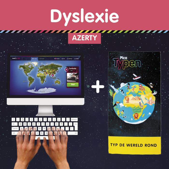 Pica Typen België Qwerty Dyslexie Strandlaken