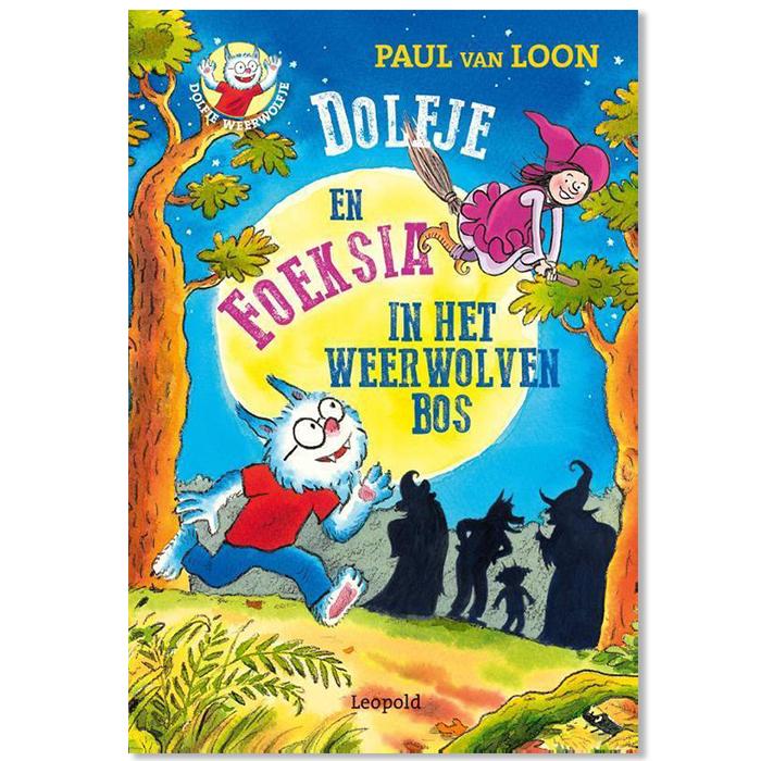 Dolfje en Foeksia in het Weerwolvenbos boek