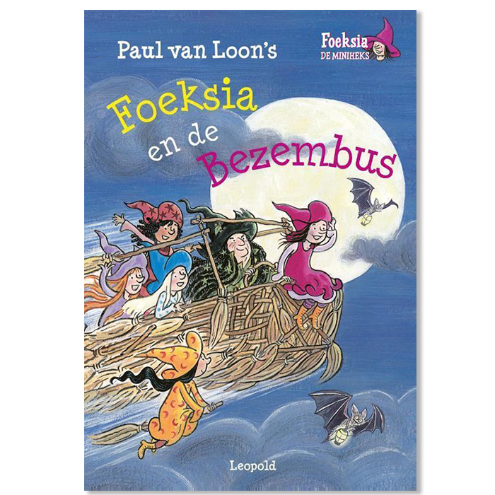 Boek Foeksia en de Heksenbus