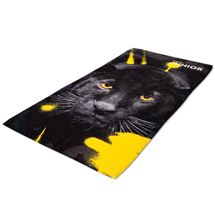 National Geographic Junior strandlaken zwarte tijger