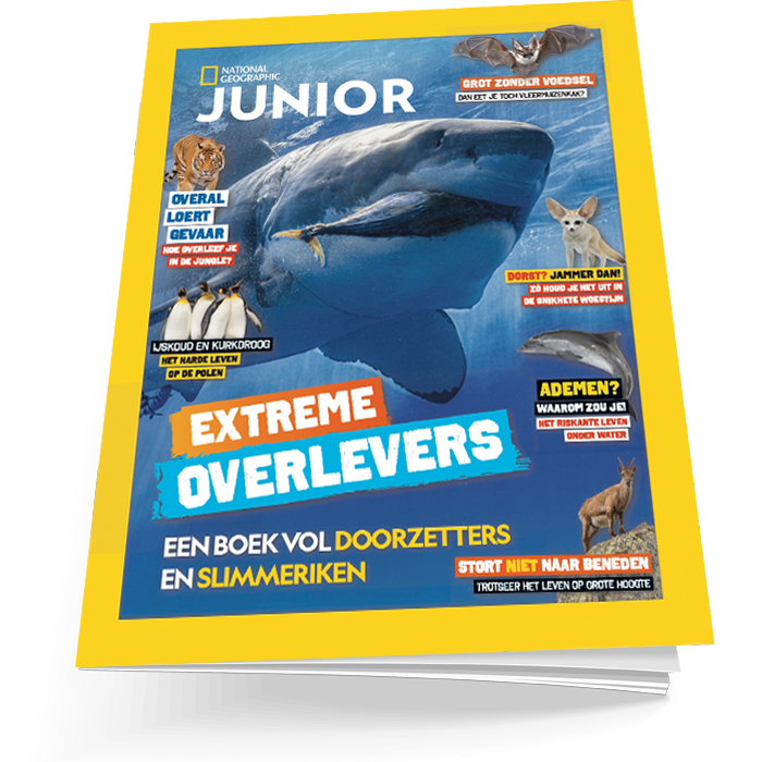 National Geographic Junior Zomerboek 2021