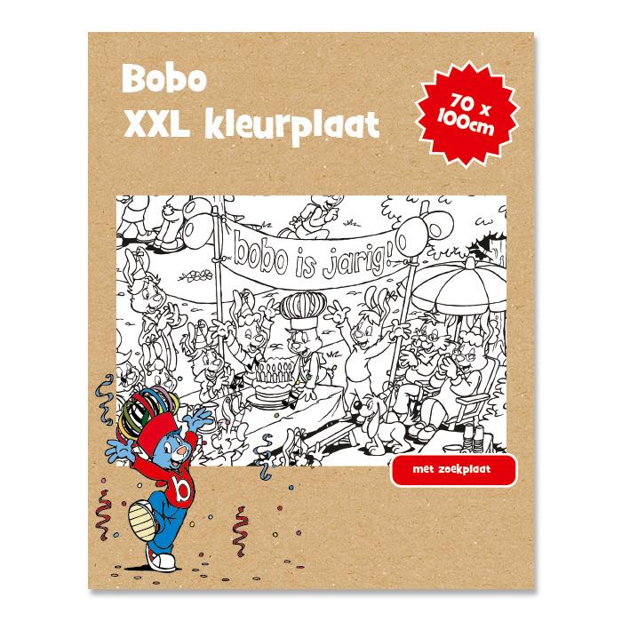 Bobo XXL kleurplaat