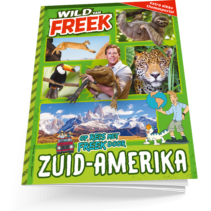 Wild van Freek Lentespecial Zuid-Amerika