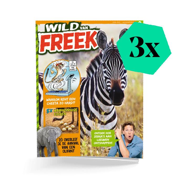 Wild van Freek 3 nummers