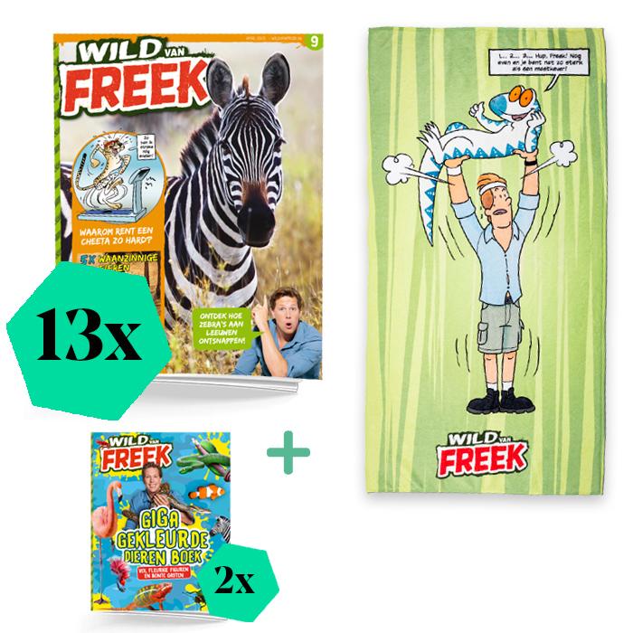 Wild van freek jaarabonnement extra