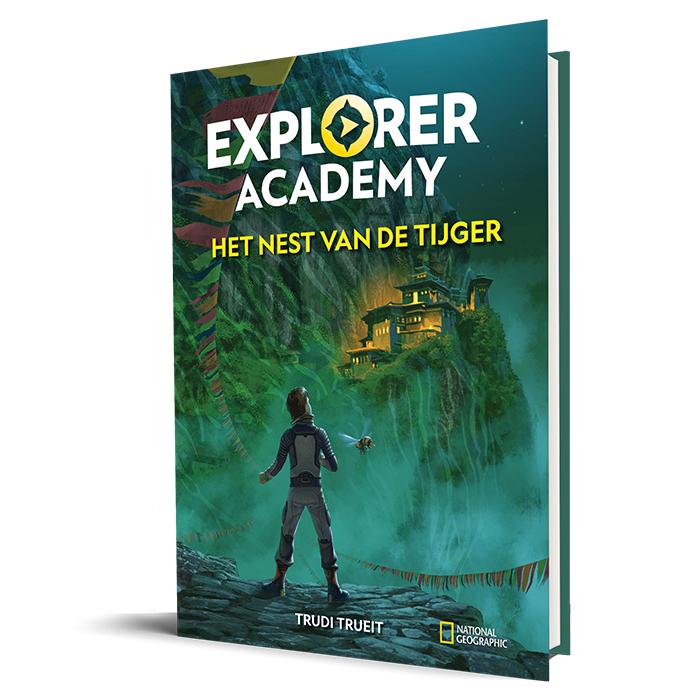 Het nest van de tijger Explorer Academy