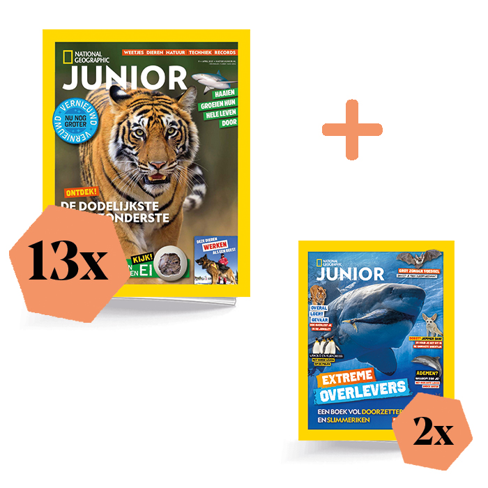 Nat Geo Junior Jaar extra
