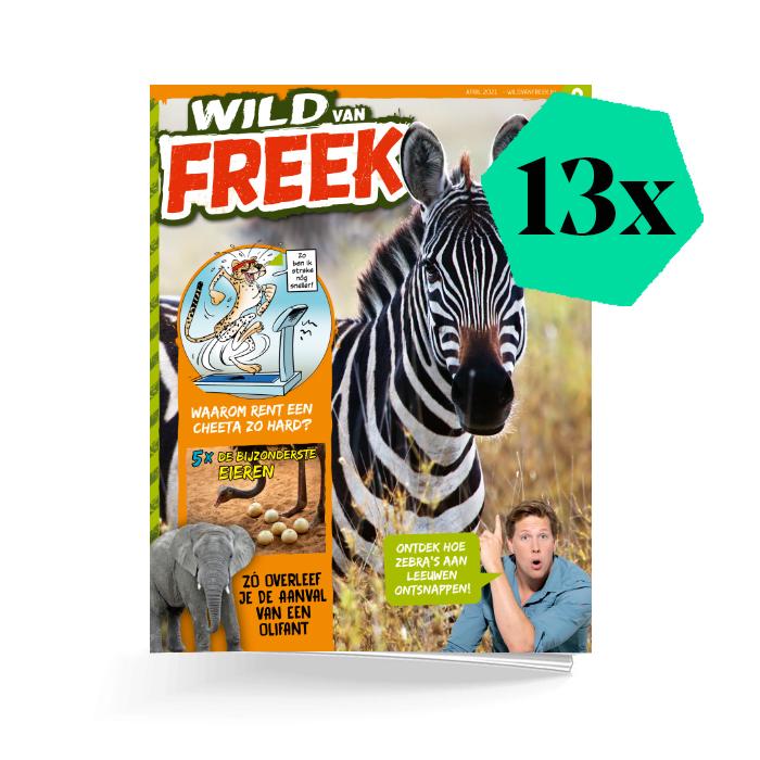 Wild van Freek jaar basis