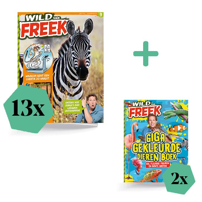 Wild van Freek Jaar extra