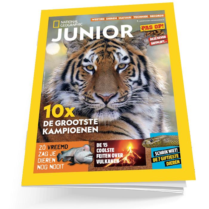 Nat Geo Junior losse editie 1