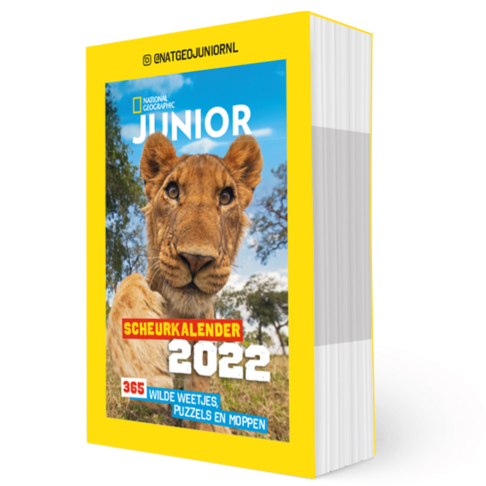 National Geographic-Junior Scheurkalender 2022
