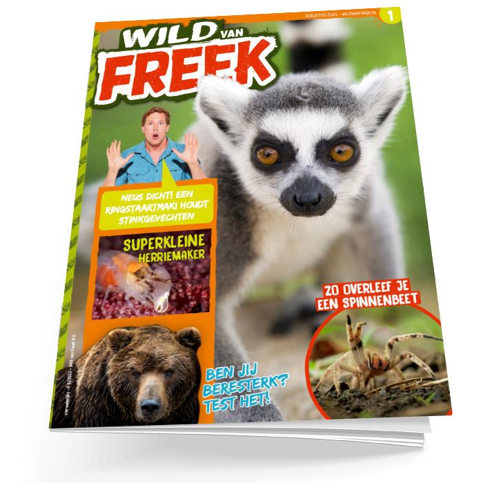 Wild van Freek losse editie 1