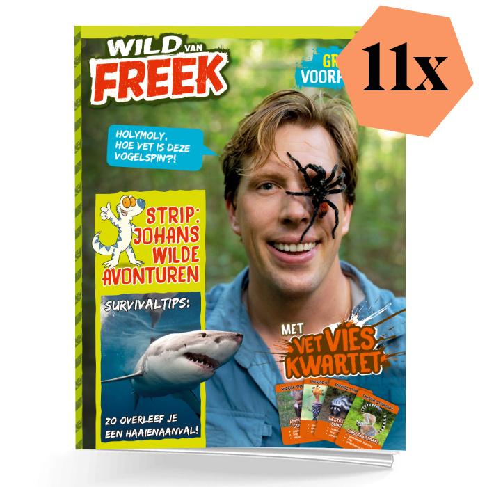 Wild van Freek schoolabonnement 1 jaar